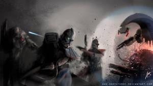 Alpha and Fordo by DarthTemoc
