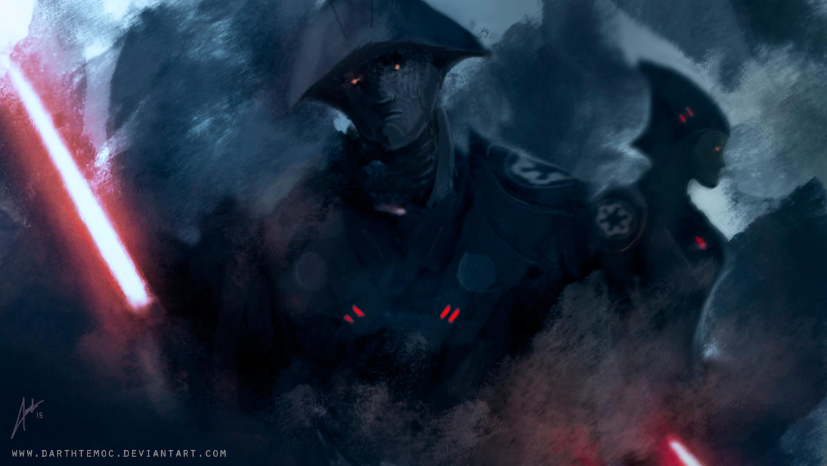 Star Wars Rebels - Inquisitors by DarthTemoc