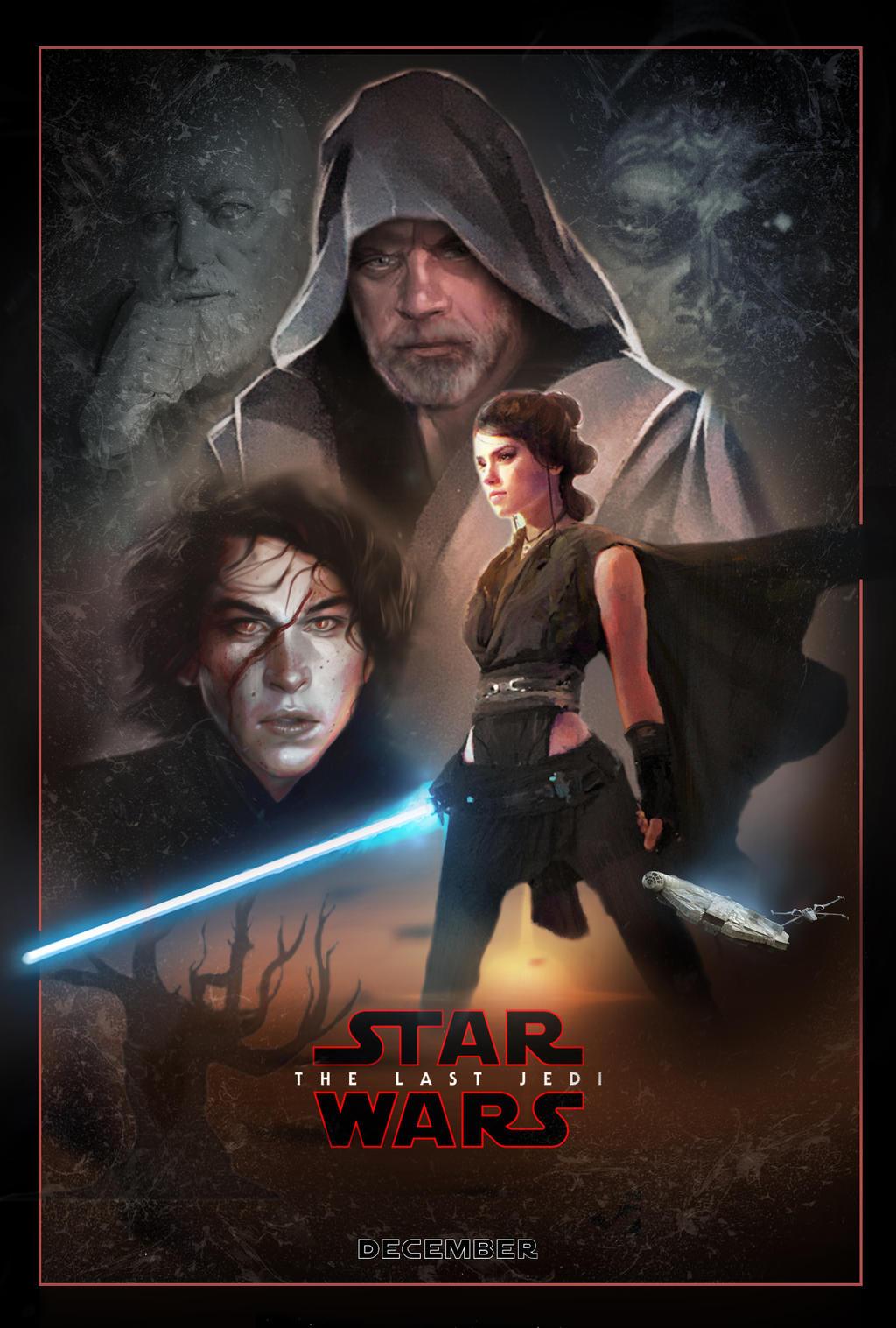The Last Jedi - Fan Poster
