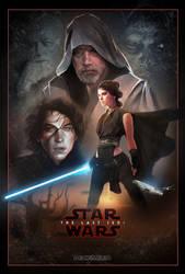 The Last Jedi - Fan Poster by DarthTemoc