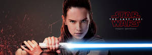 Rey Banner - The Last Jedi