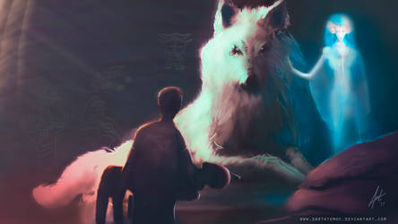 The White Wolf by DarthTemoc