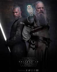 Episode IX - Ezra and Luke by DarthTemoc