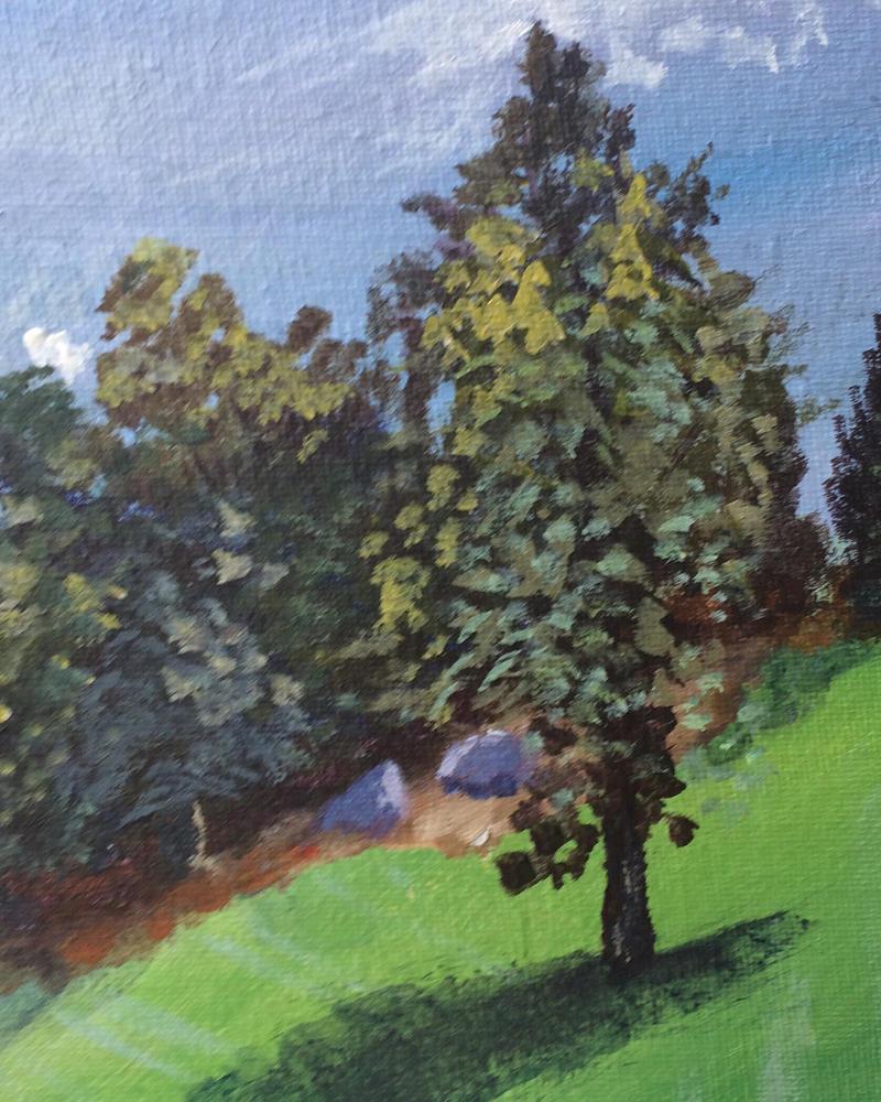 Lakeside tree  by RaySee