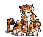 My Sad Shabby Tiger