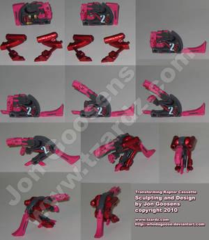 Transformers Custom Raptor Toy