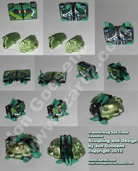 Transformers Custom Turtle Toy