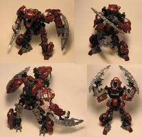 Zoids Bionicle Kitbash Tiger