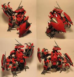 Zoids Bionicle Kitbash Geno by whodagoose