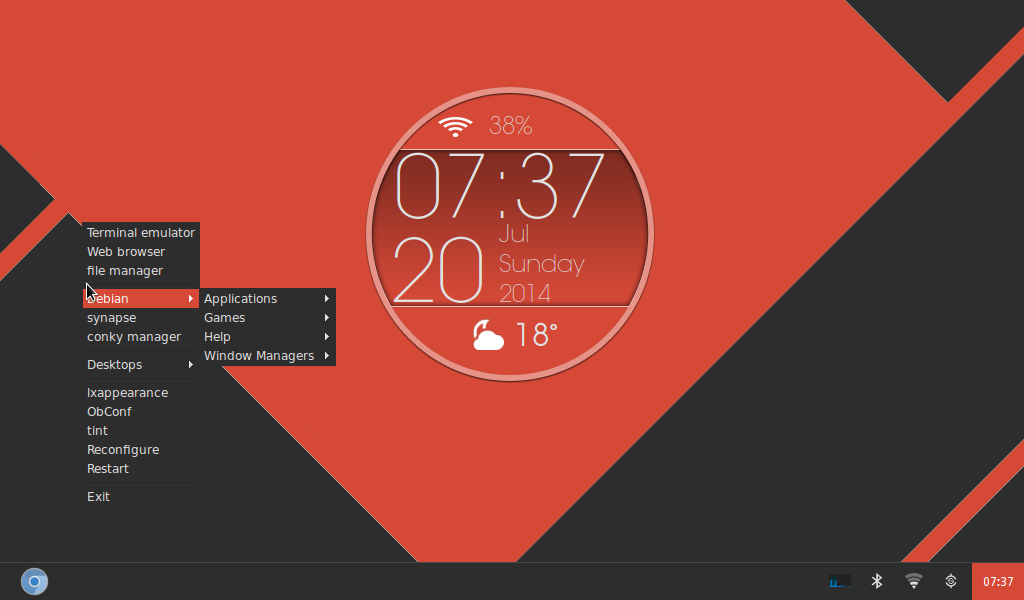 numix openbox and tint2 by profiler1982 on deviantart