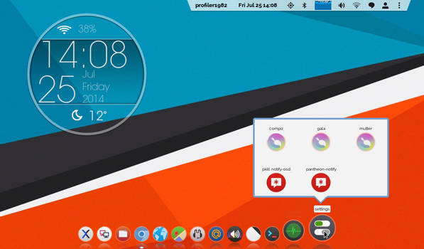 custom session on ubuntu 12.04