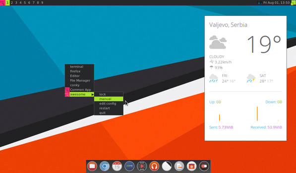 awesome on ubuntu 12.04