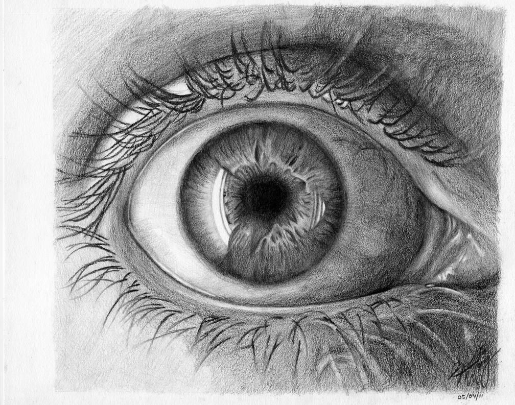 Practice - human eye by theartisfun