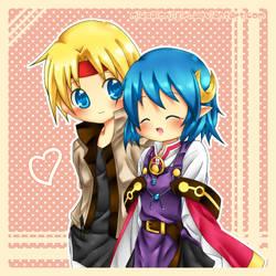 SO2 - Couple by Miusaionjigirl