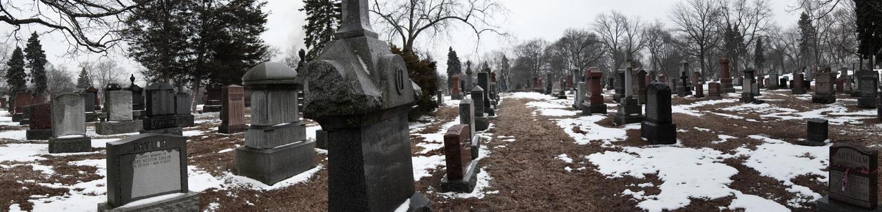 Graveyard panoramic