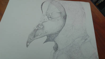 Plague Doctor (Pointillism)