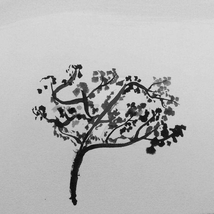 Sumi Treee by NezrynGrimm