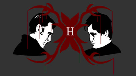 Identically Different - Hannibal and Will by skybreakerdesign