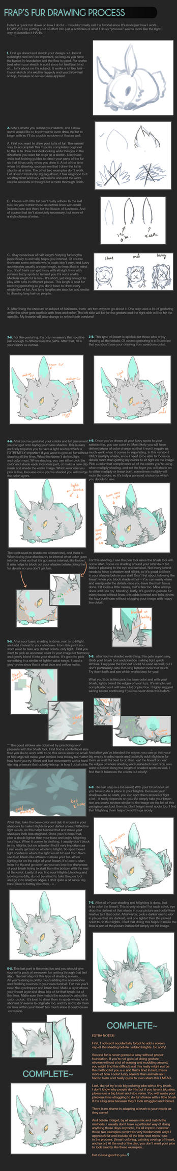 how to : fur! by blithebird