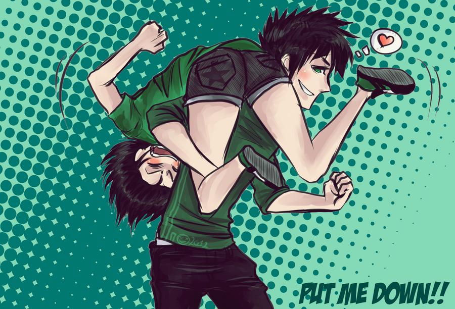 Put me down 2 by jailbaitCAT