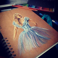 Cinderella by ASmudgeOfPaint