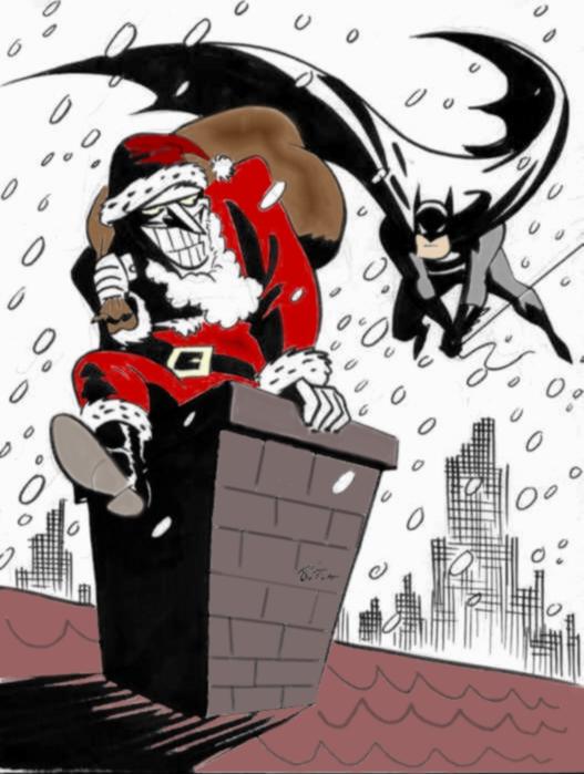 Joker Christmas.Christmas With Joker By I S By The Joker Club On Deviantart