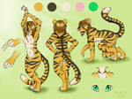 Tamara Tigress Character Sheet