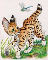 The Playful Huntress by SilentRavyn