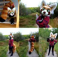 Red Panda Fursuit