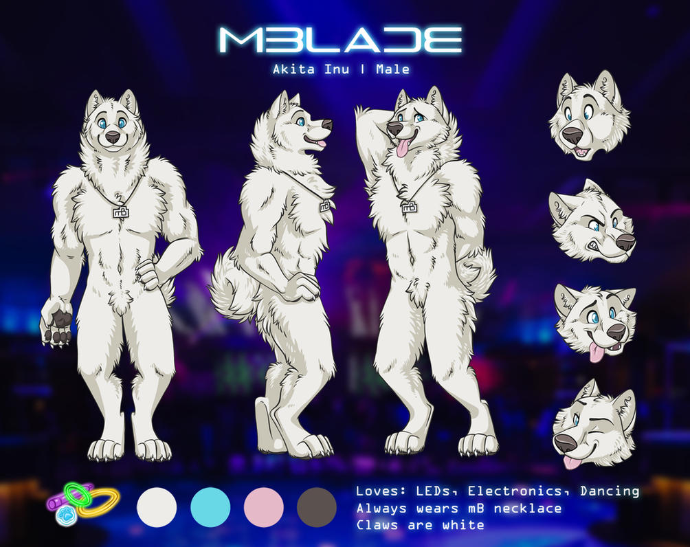 mBlade Reference Sheet by SilentRavyn