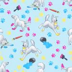 Paint Pups Pattern