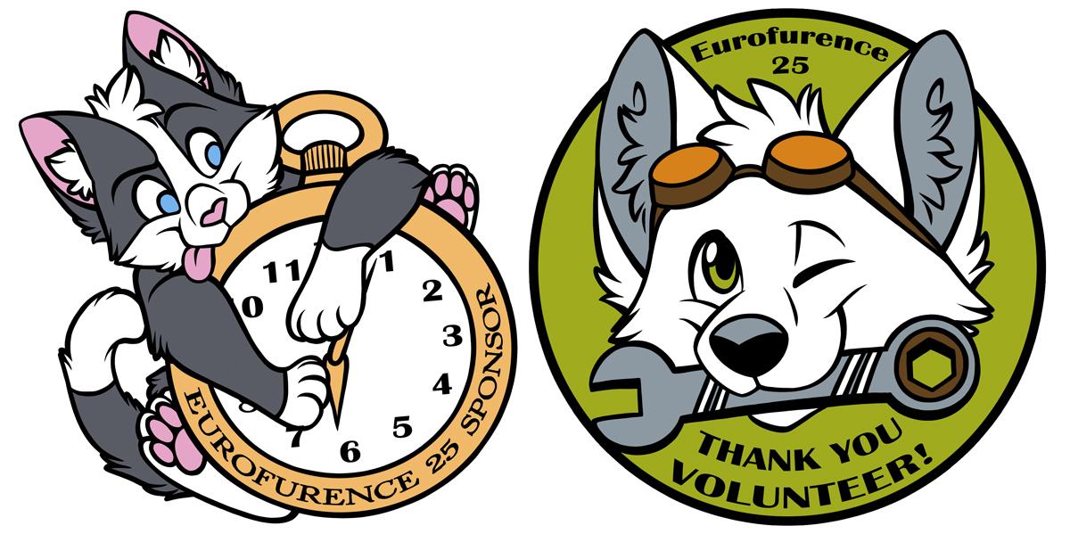 Eurofurence 25 Pins