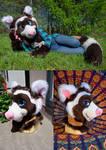Marbled Polecat Fursuit (for sale!)