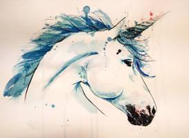 Unicorn by rokkihurtta