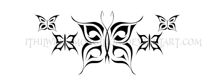 butterflies tattoo by ithilwen morgilion on deviantart. Black Bedroom Furniture Sets. Home Design Ideas