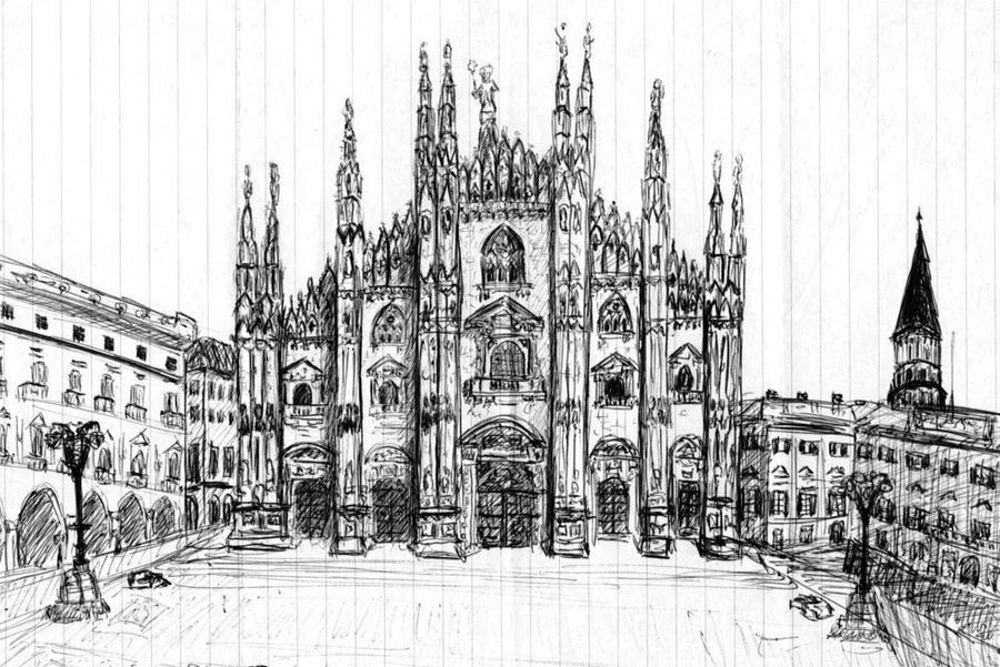 Duomo Milano Italy By Mjdezo On Deviantart