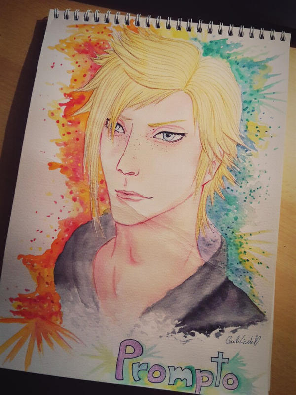 Prompto the chocobro by Daylight-Darkside