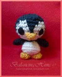 Penguin amigurumi by BaLaNcIngHiMe