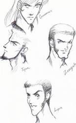 lupin 4 heads better than 1 by lshikawaGoemon