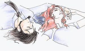 Jigen and Sora naptime