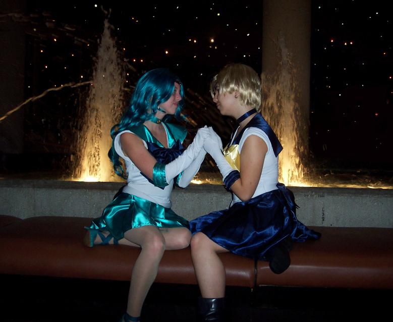 Neptune Uranus: Love-Lit Night by Shadow777