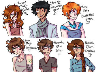 haha they're back 1 (finished) by SeaOfFeelings