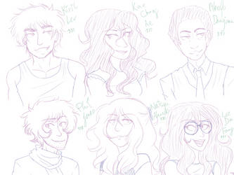 haha theyre back 4 (wip) by SeaOfFeelings