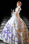 Princess Sakura _Snow dress