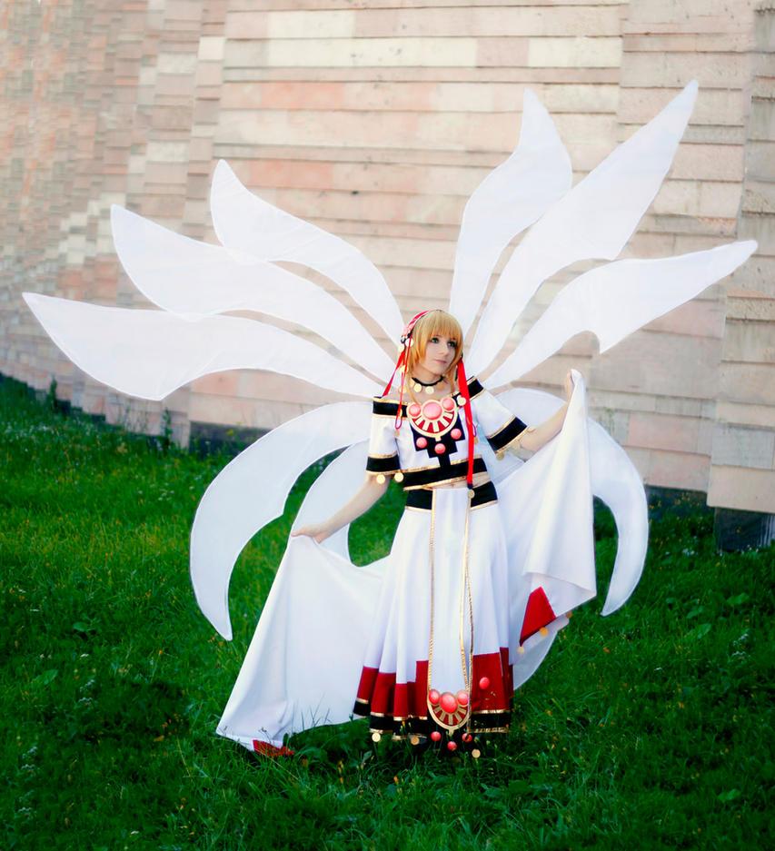 Tsubasa Chronicle-Sakura wings by SAlbi