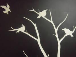 Crow Wall Art
