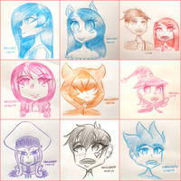 Headshot Requests Collage #3