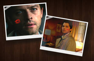 Dean's Snapshots of Cas by closeyoureyes0329