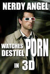 Cas Watches Destiel P0RN in 3D by closeyoureyes0329
