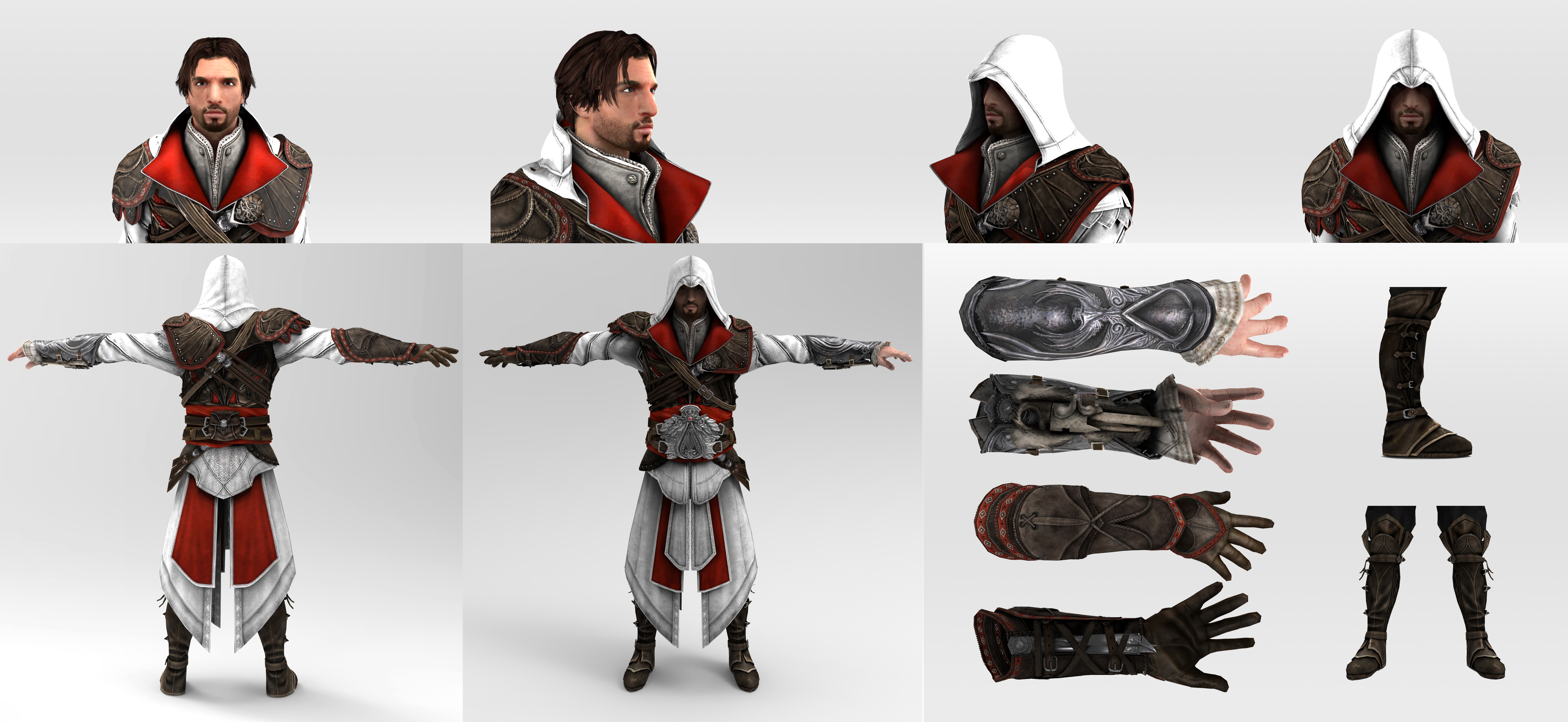 Cosplay Reference Ezio Auditore Brotherhood By